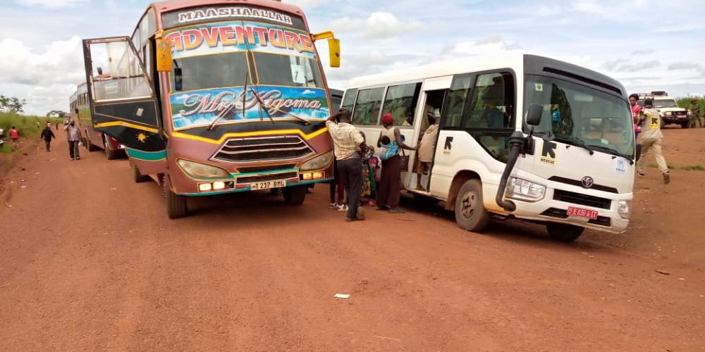 BURUNDI : 492 réfugiés Burundais rapatriés de TANZANIE / RUYIGI