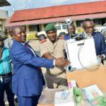 Les contingents en mission à l'étranger reçoivent du matériel pour lutter contre le COVID-19