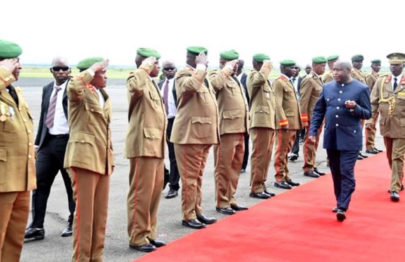 Le président Ndayishimiye à Kampala pour l'investiture de son homologue