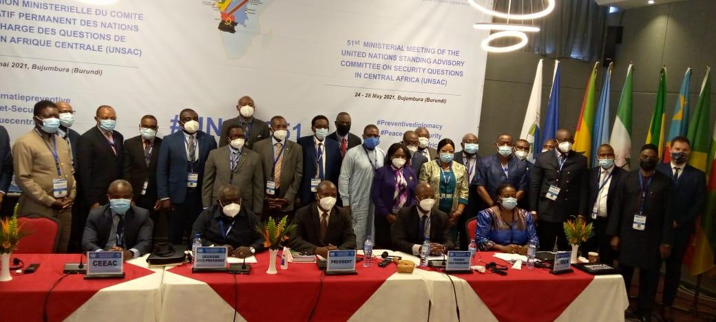 BURUNDI / ONU : 51ème réunion du Comité Consultatif Permanent UNSAC
