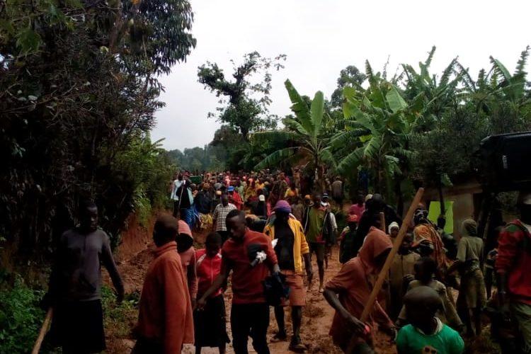 BURUNDI : TRAVAUX DE DEVELOPPEMENT COMMUNAUTAIRE – Entretenir d'une piste sur la colline RUSHA à BUKEYE / MURAMVYA