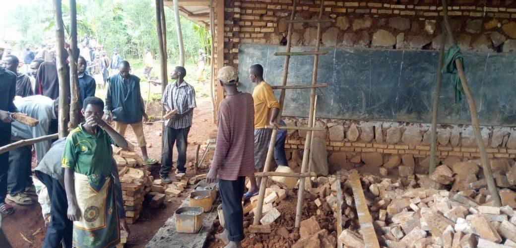 BURUNDI : TRAVAUX DE DEVELOPPEMENT COMMUNAUTAIRE – Travaux d'extension de L'ECOFO RUBAYA à MARANGARA, NGOZI