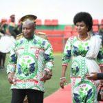 BURUNDI : Le Chef d'ETAT à la fête du Travail à BUGANDA /  CIBITOKE