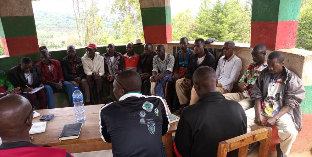 BURUNDI : Les sections CNDD-FDD KIGANDA, NDAVA, et RUSAKA en réunion / MURAMVYA