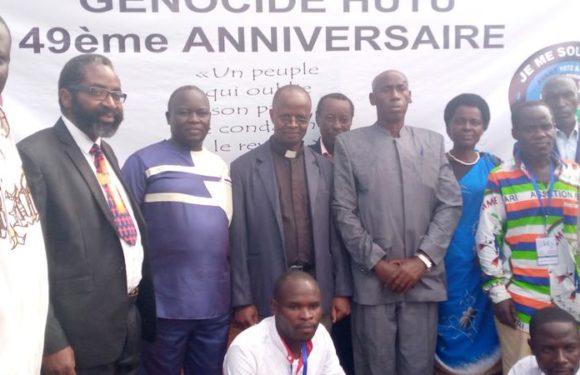 GENOCIDE CONTRE LES HUTU DU BURUNDI : Un collectif commémore les 49 ans du GENOCIDE à SHOMBO / KARUSI