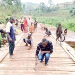 BURUNDI : Le Pont de RUHINGA sur la route KABARORE-KAYANZA réhabilité