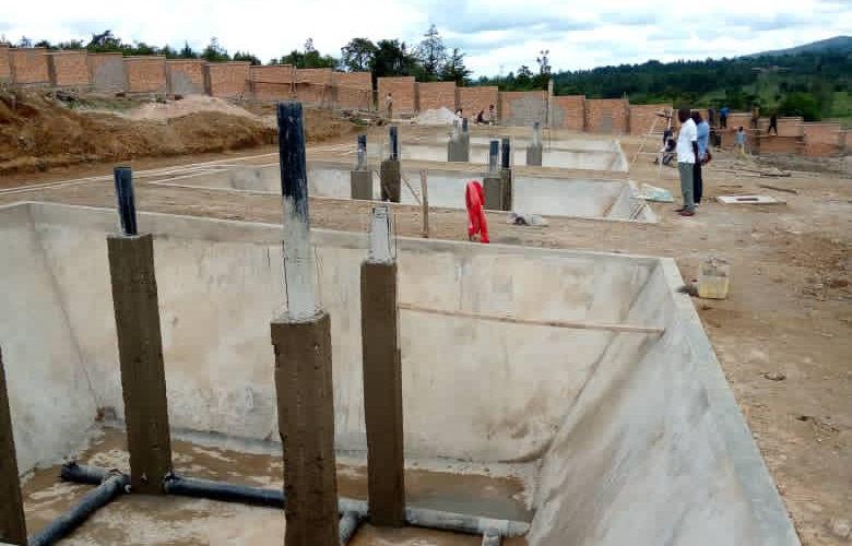 BURUNDI : Le site de traitement des boues de vidange à RUYIGI