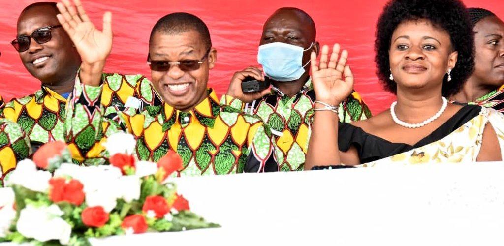 BURUNDI : Le Président du SENAT à la fête du Travail à NGOZI