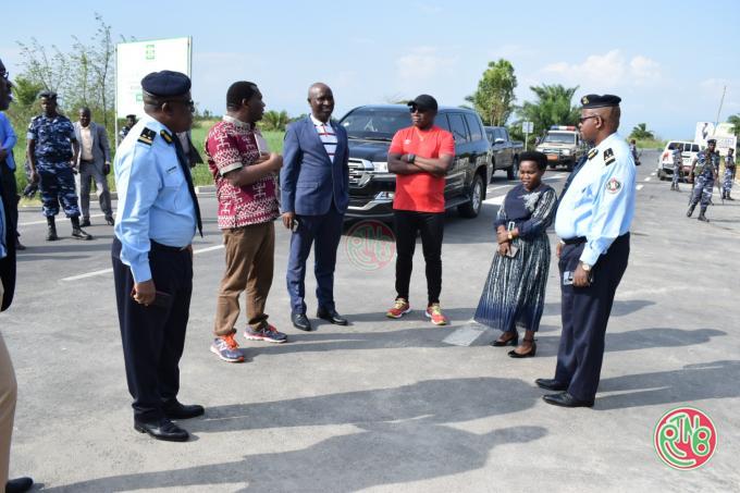 Le comité national covid visite le site de dépistage de Gatumba