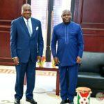 Le Chef de l'Etat s'entretient avec deux membres du comité consultatif des UNSCA