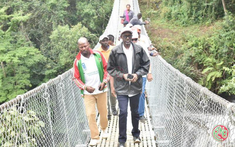 MIELS: le ministre visite les chantiers de construction des infrastructures publiques