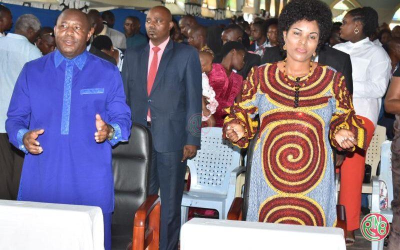 Paroisse Gihanga: le Chef de l'Etat appelle à l'amour fraternel