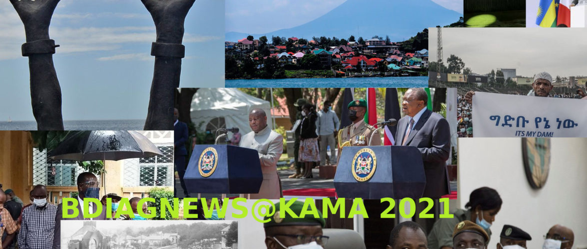 BURUNDI / Petit tour sur l'actualité sur KAMA ou l' AFRIQUE , AFRICA – MAI – JUIN 2021 / 01-06-2021