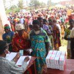 BURUNDI : 3.300 GSM distribués à des FEMMES de RUSAKA, NDAVA et NYABIHANGA / MWARO
