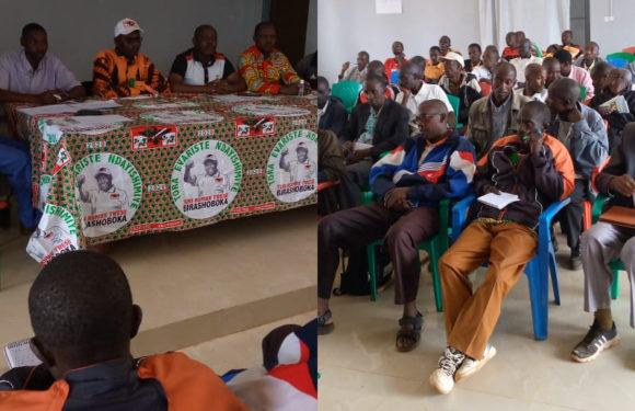 BURUNDI : Coordonner les actions collinaires CNDD-FDD à GITANGA / RUTANA