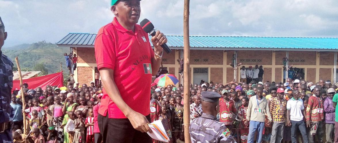 BURUNDI : Le CNL inaugure une permanence communale à MURWI / CIBITOKE