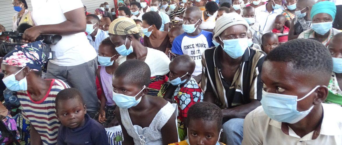 BURUNDI : Accueil des rapatriés venus de RDC à GIHANGA / BUBANZA