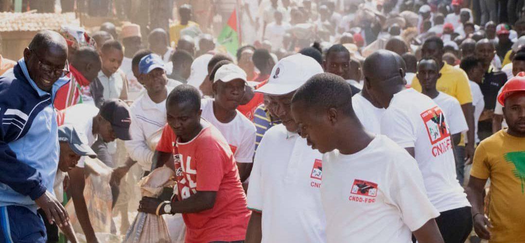 BURUNDI : TRAVAUX DE DEVELOPPEMENT COMMUNAUTAIRE – Achever de construire la permanence CNDD-FDD MAIRIE DE BUJUMBURA