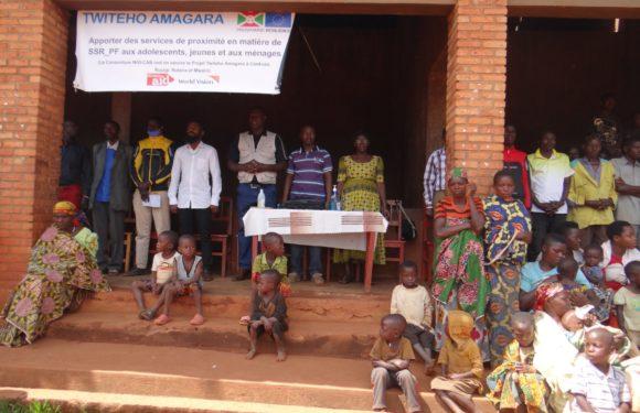 BURUNDI : ABUBEF – Projet de régulation démographique à BUTAGANZWA / RUYIGI