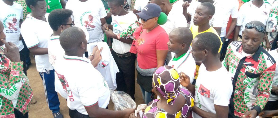 BURUNDI : Le CNDD-FDD RUYIGI reçoit 303 nouveaux militants avec beaucoup de CNL