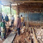 BURUNDI : TRAVAUX DE DEVELOPPEMENT COMMUNAUTAIRE - Agrandir L'ECOFO RUBAYA à MARANGARA / NGOZI