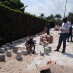 BURUNDI : Vérifier le pavage des routes à MUKAZA / BUJUMBURA