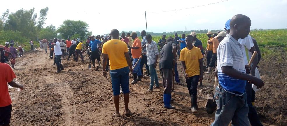 BURUNDI : TRAVAUX DE DEVELOPPEMENT COMMUNAUTAIRE – Réhabiliter des routes et des caniveaux à GIHANGA / BUBANZA