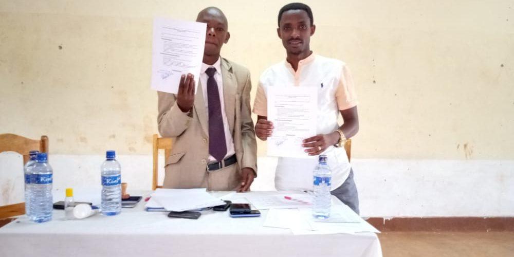 BURUNDI : Signature d'un pacte avec la société civile locale de GASORWE / MUYINGA