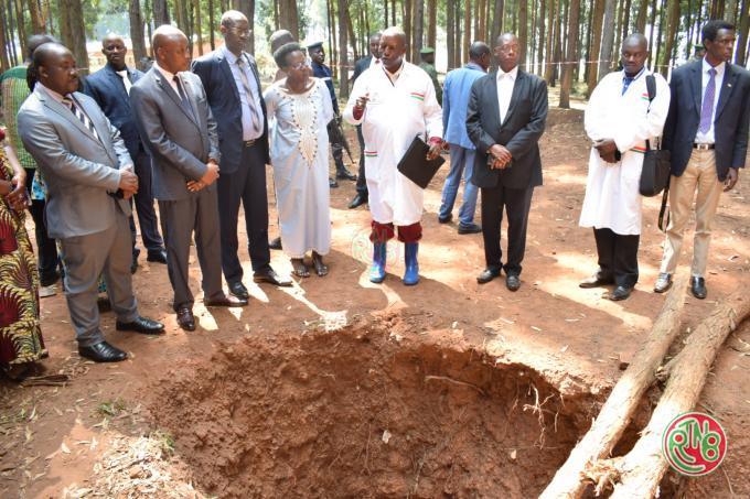 Clôture provisoire des activités de la CVR en provinces de Muyinga et Kirundo
