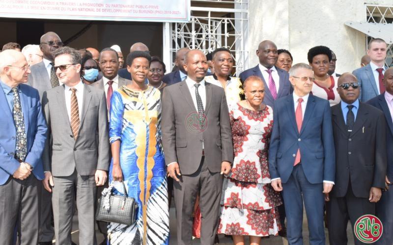 La diplomatie économique figure parmi les priorités du Gouvernement du Burundi