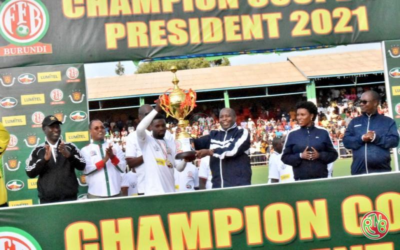 Football: l'équipe BUMAMURU FC remporte la coupe du Président