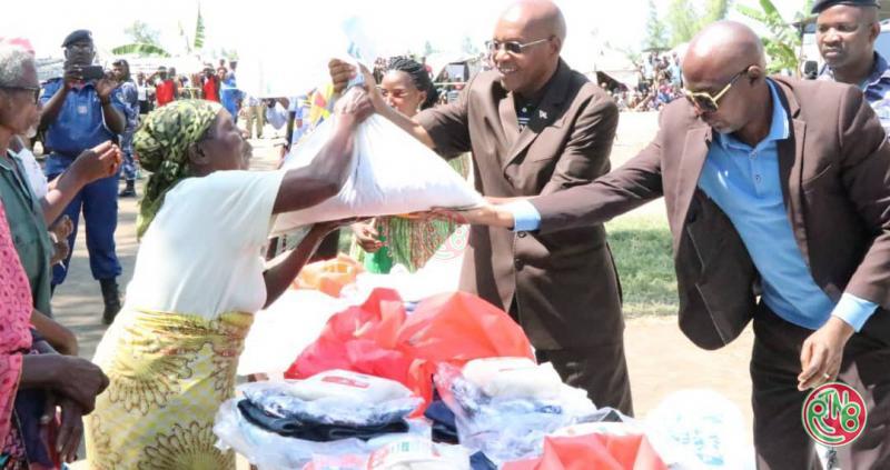 L'Assemblée nationale assiste les sinistrés des inondations de Gatumba