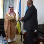 Le ministre d'Etat saoudien aux affaires africaines en visite officielle au Burundi