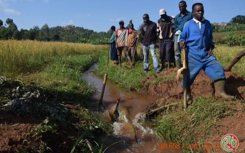 Les agriculteurs encouragés à l'utilisation des techniques d'irrigation