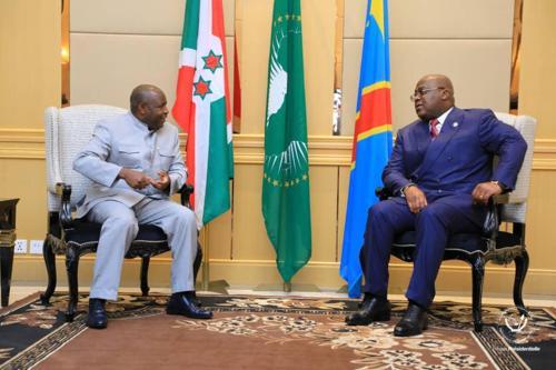 Accords et entente entre la RDC et le Burundi