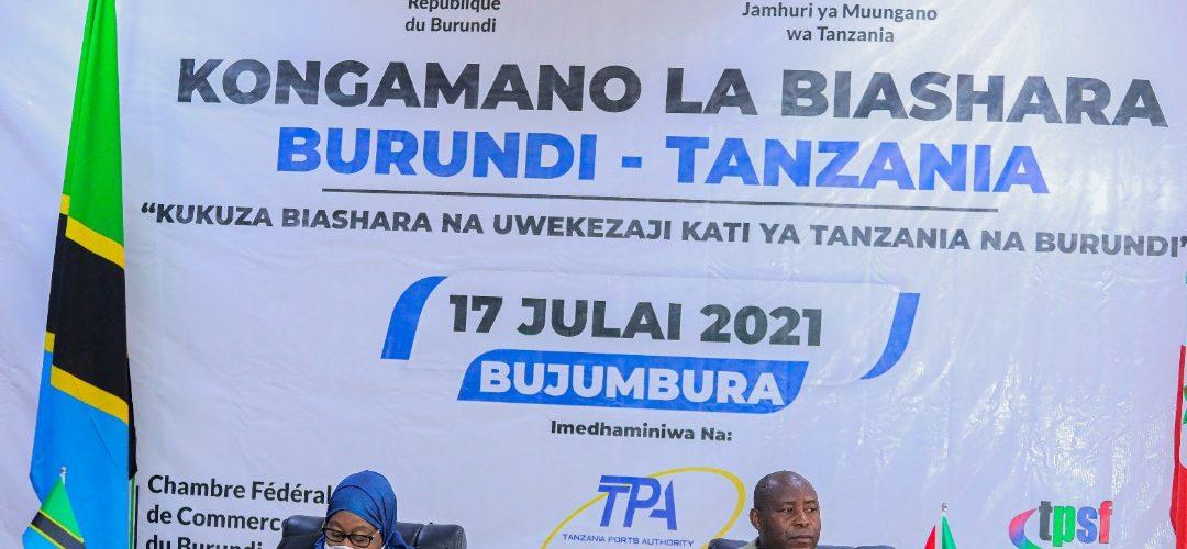 Le Forum d'Affaires Burundi-Tanzanie sanctionné par la signature d'un Protocole d'accord