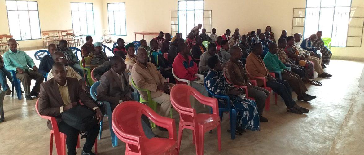 BURUNDI : CENI – Echange avec les conseillers des collines de MABANDA / MAKAMBA