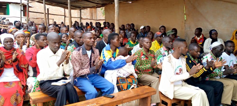 BURUNDI : Réunions des sections collinaires CNDD-FDD de TANGARA / NGOZI