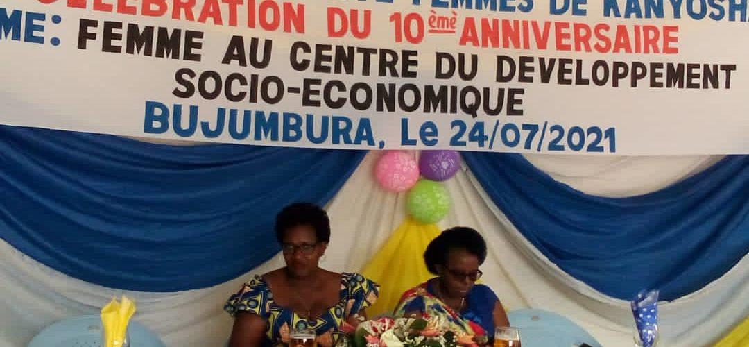 BURUNDI – SOCIETE CIVILE : L' ASFK fête ses 10 ans à KANYOSHA / BUJUMBURA