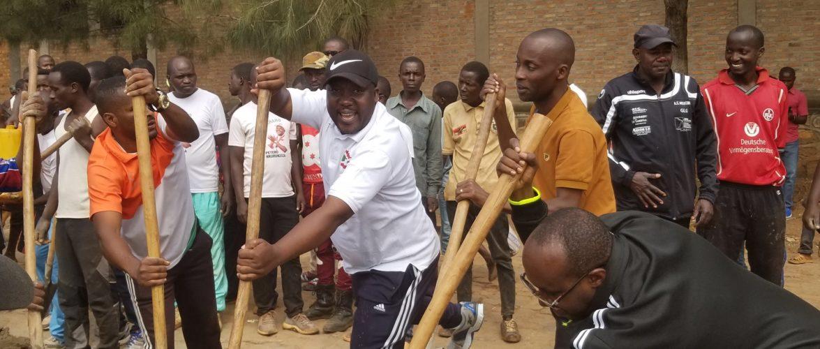 BURUNDI : TRAVAUX DE DEVELOPPEMENT COMMUNAUTAIRE – Construction du CLAC de RUPFUNDA à KIRUNDO