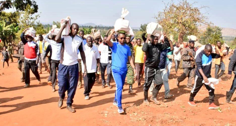 BURUNDI : TRAVAUX DE DEVELOPPEMENT COMMUNAUTAIRE – Bâtir L'HOPITAL MISHIHA / CANKUZO