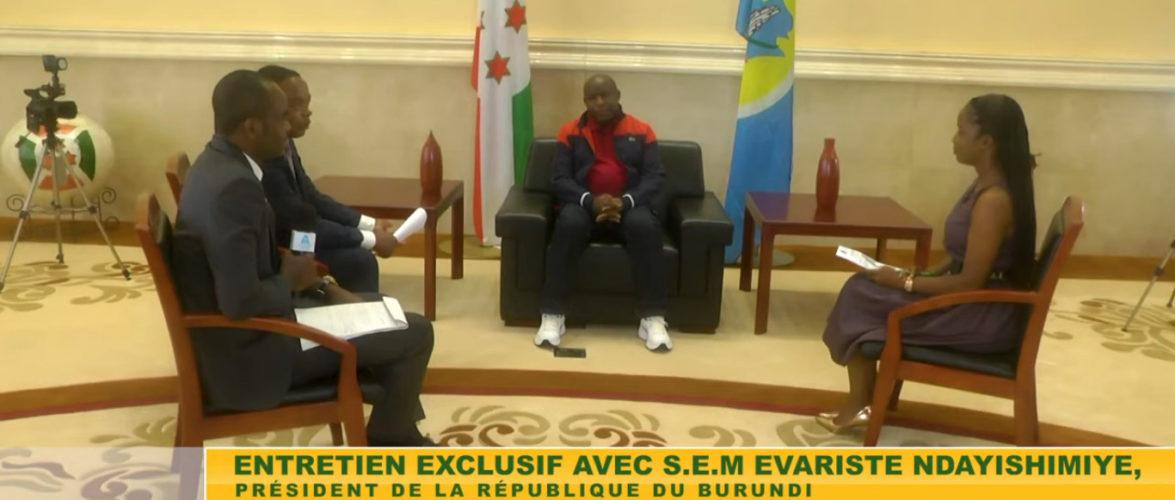 BURUNDI : S.E. NDAYISHIMIYE Evariste reçoit le media panafricain AFRIQUE MEDIA