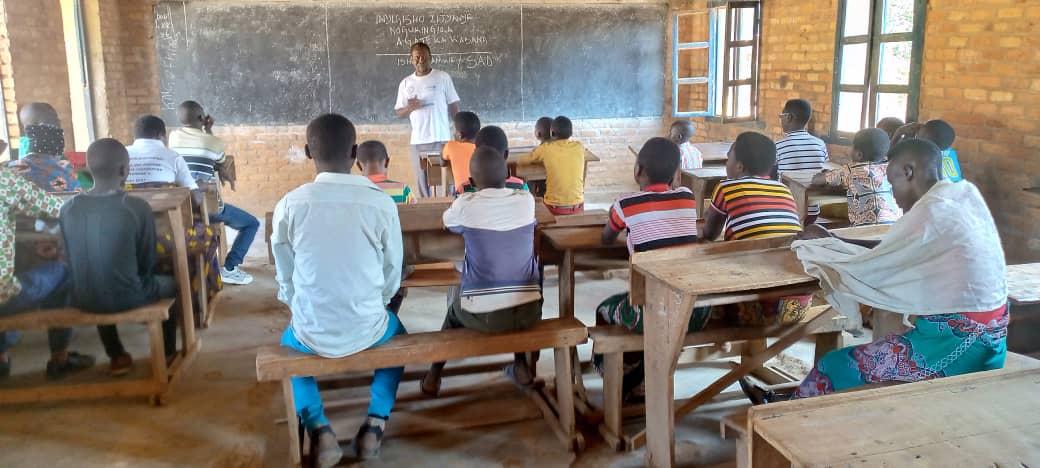 BURUNDI : Une activité sur les droits de l'enfant à CENDAJURU / CANKUZO