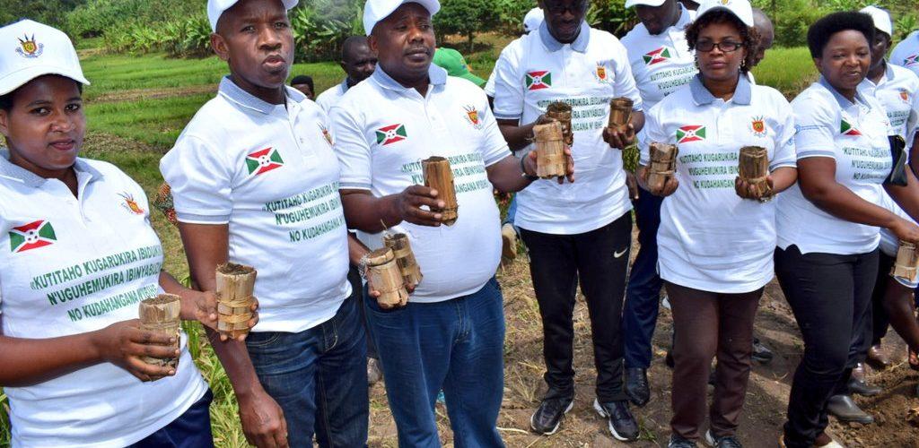 BURUNDI : Journée Mondiale de l'Environnement à MUGINA / CIBITOKE