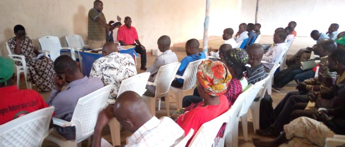 BURUNDI : Le CNL échange à GITEGA