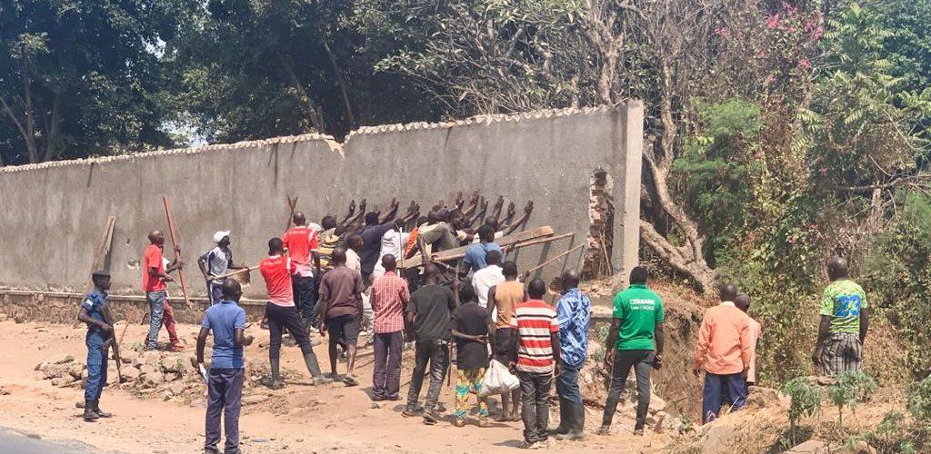 BURUNDI : Démolition des constructions anarchiques à MUHA / BUJUMBURA MAIRIE