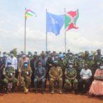 BURUNDI : 750 casques bleus burundais de la MINUSCA décorés