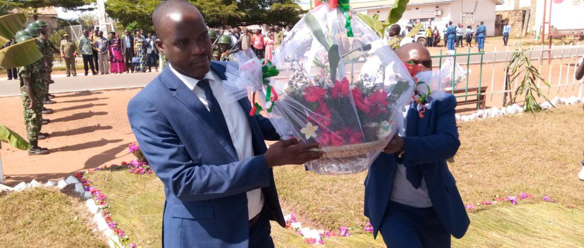 BURUNDI : MUYINGA – Célébration du 59ème anniversaire de l'indépendance