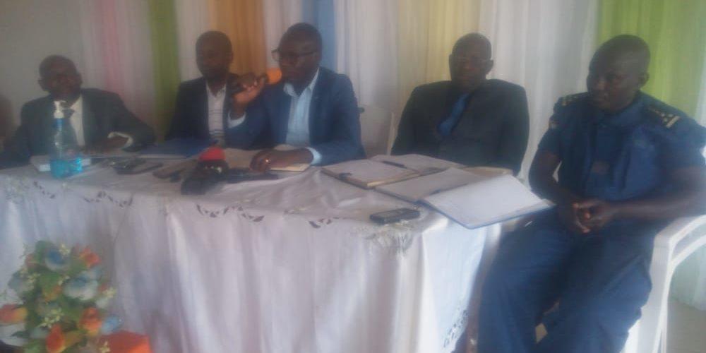 BURUNDI : Réunion de sécurité à KIGANDA / MURAMVYA