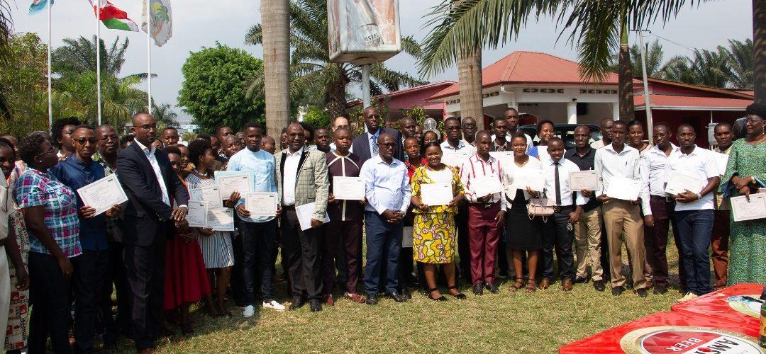 BURUNDI : 71 journalistes formés par LA BENEVOLENCIJA